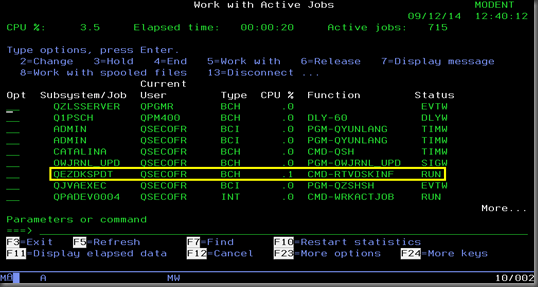 image thumb3 How To Get A Disk Usage Report From IBM iSeries