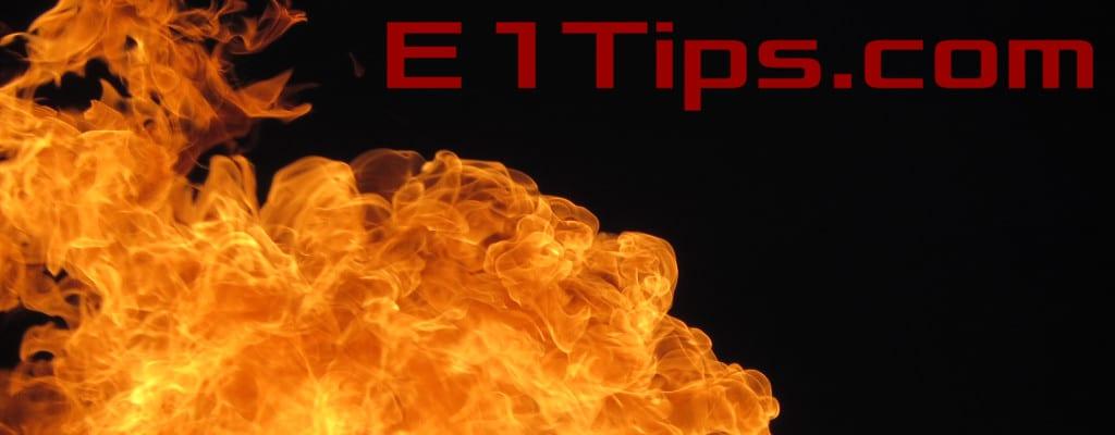 E1Tips Fire
